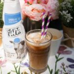 Lavender Vanilla Iced Latte drinks