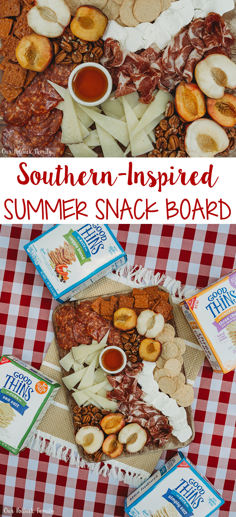 Southern-Inspired Summer Snack Board