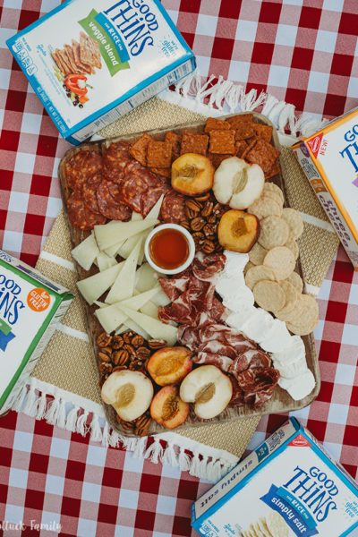 Southern-Inspired Summer Snack Board Good Thins