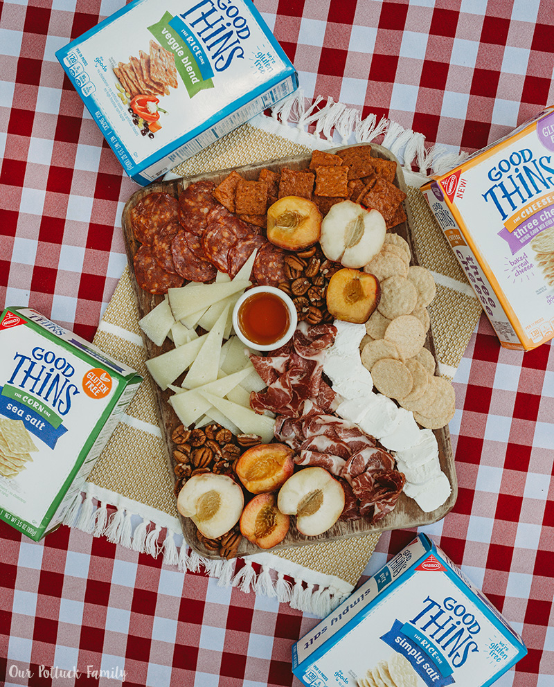 Summer Snack Board Good Thins