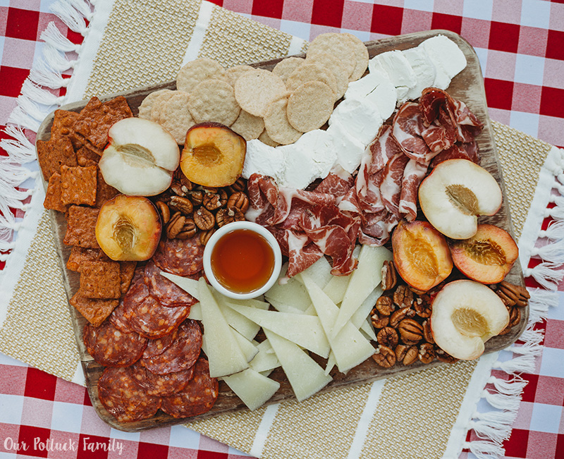 Summer Snack Board meats