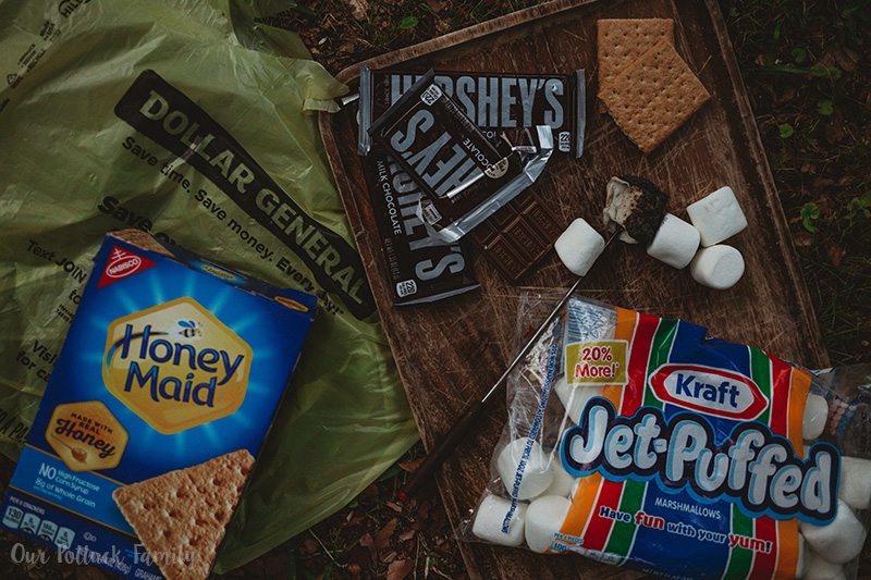 Traditional Campfire S'mores
