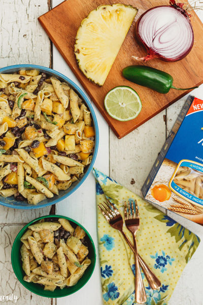 Tropical Pasta Salad Instagram