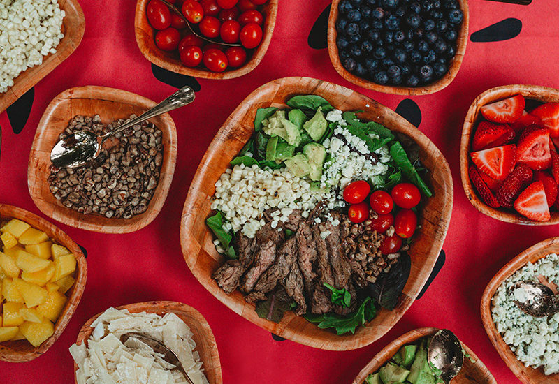 Ultimate Salad Bar Party Instagram