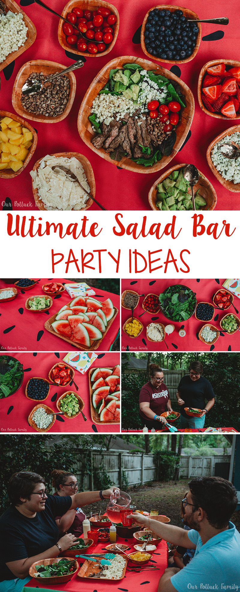 Ultimate Salad Bar Party