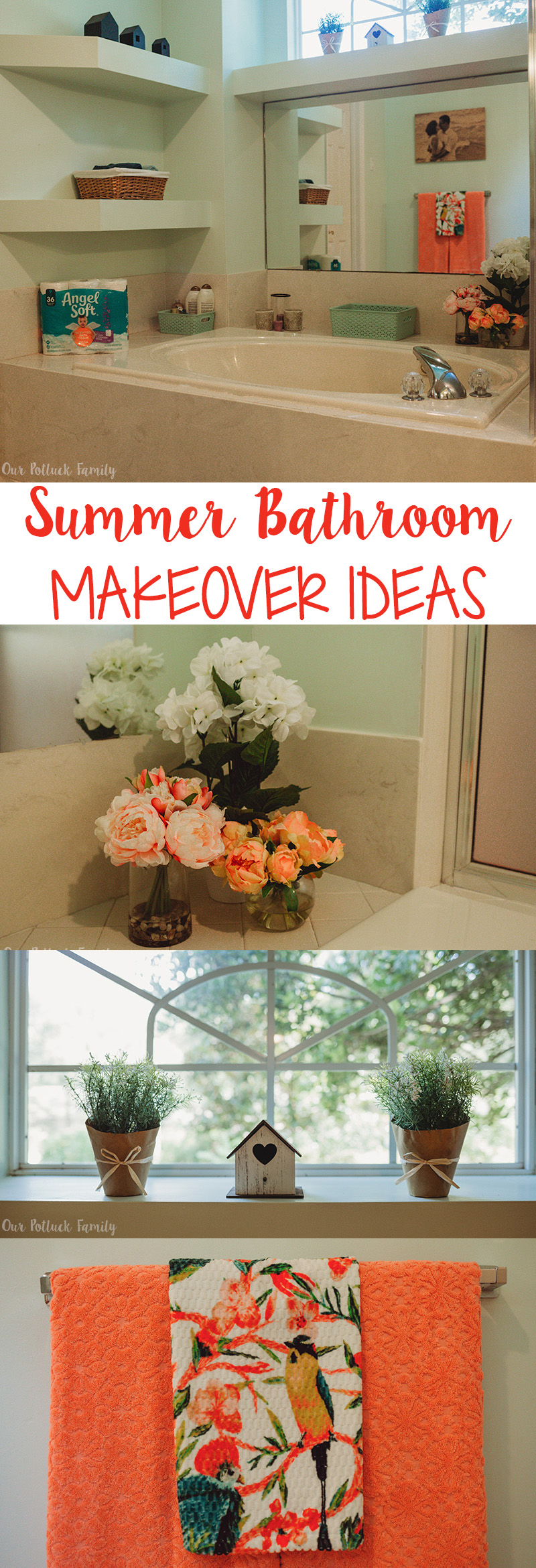 Summer Bathroom Makeover ideas
