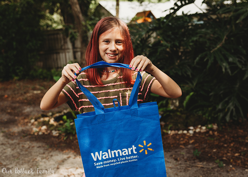 Walmart shopping bag