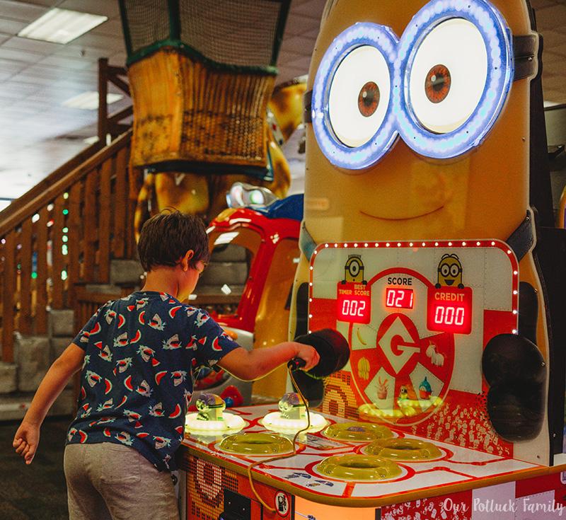 Chuck E. Cheese's Birthday Minion