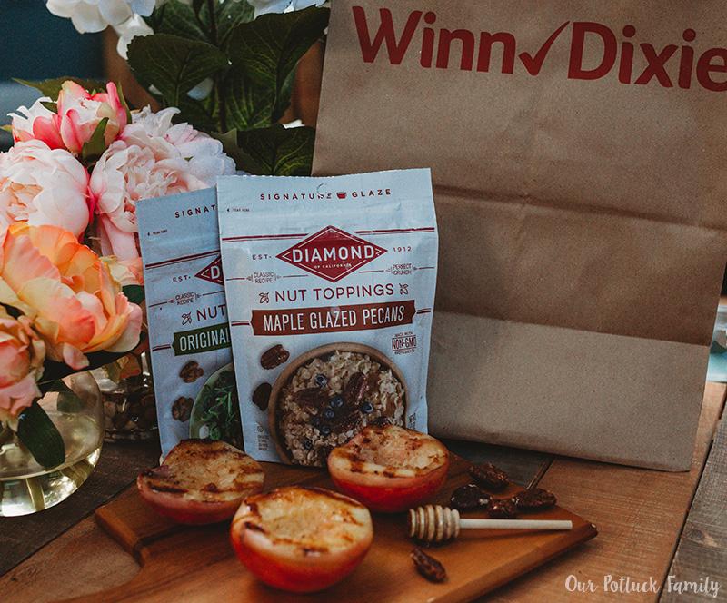 Grilled Nectarines at Winn-Dixie