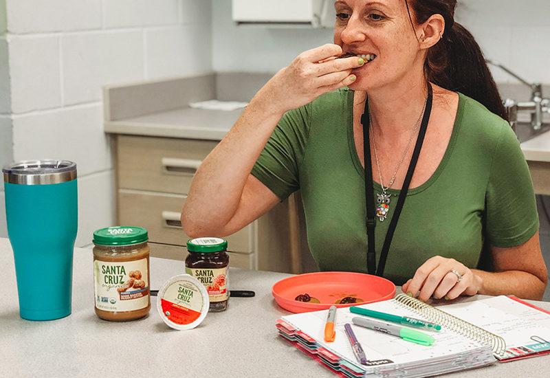teacher snack cracker
