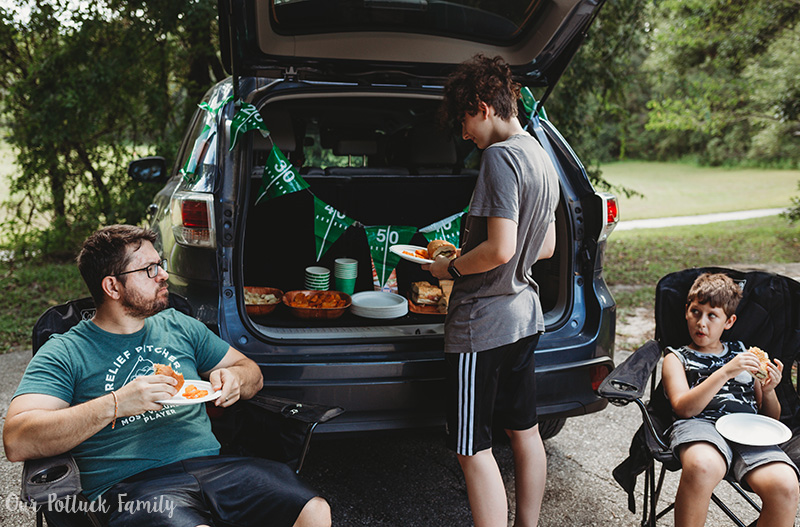 Easy Tailgating Tips family