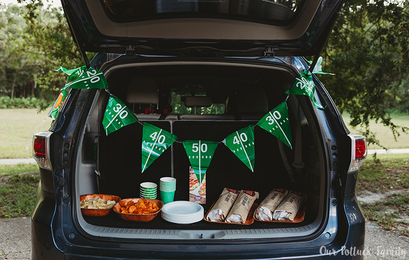 Easy Tailgating Tips party