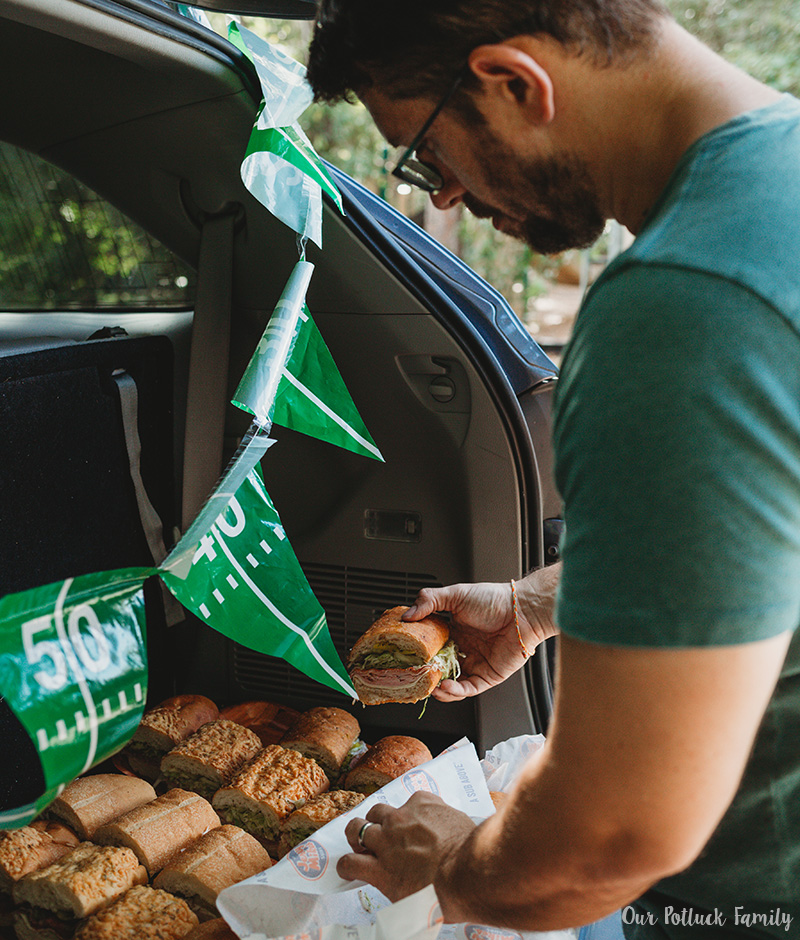 Easy Tailgating Tips sliced