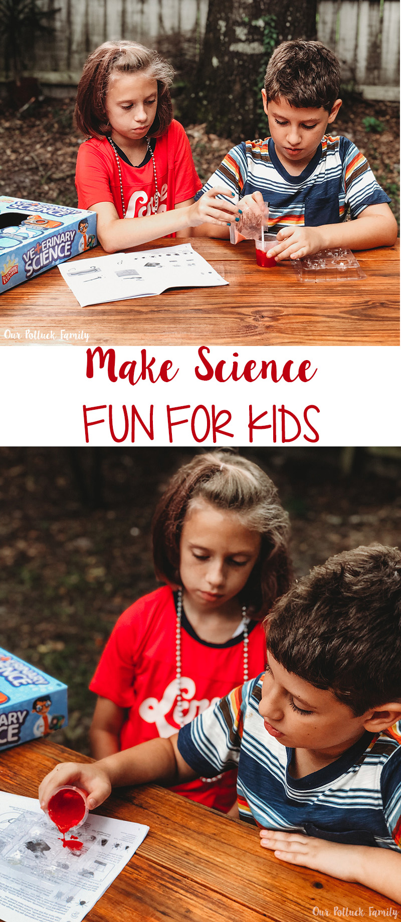 Make Science fun for Kids