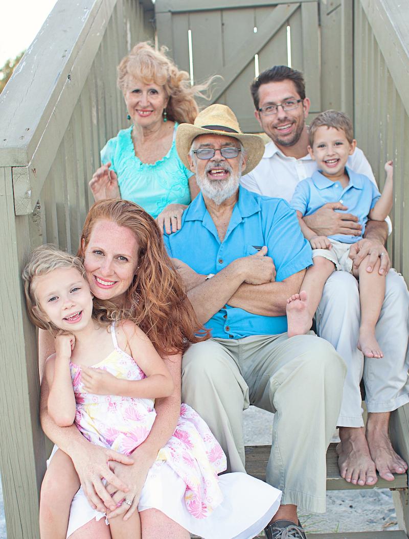 Wells family photo
