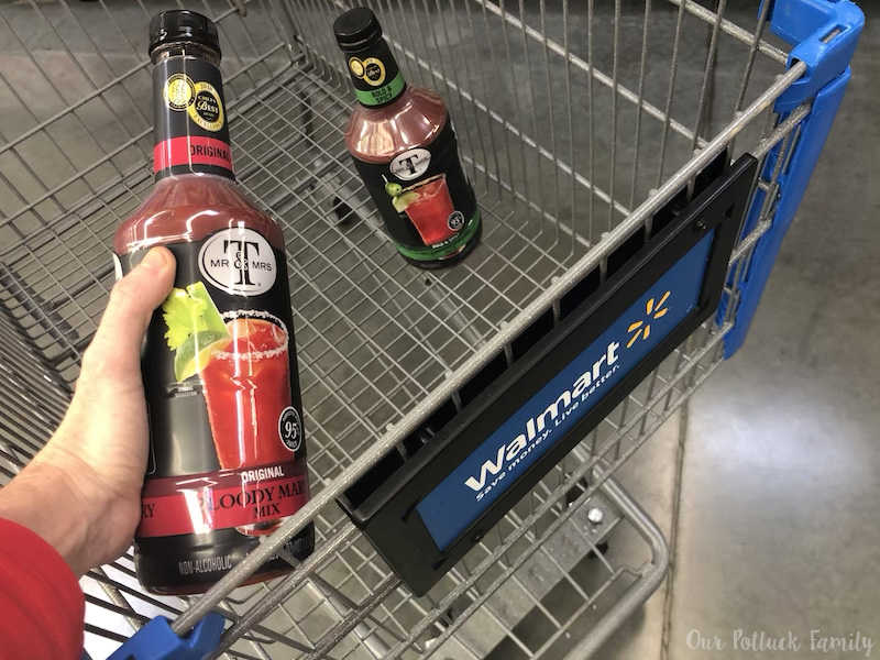 Bloody Mary at Walmart