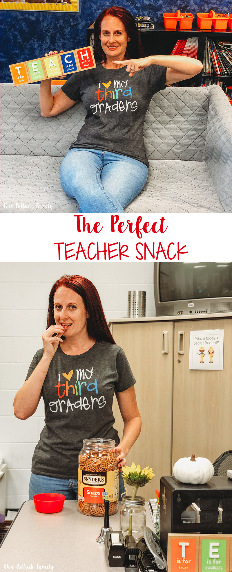 The Perfect Teacher Snack