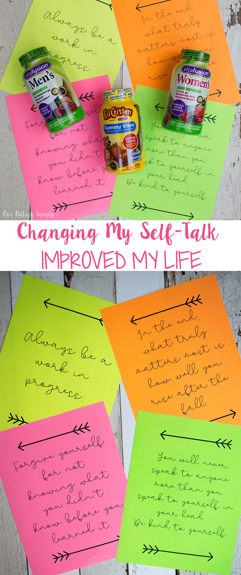 Changing my self-talk changed my life