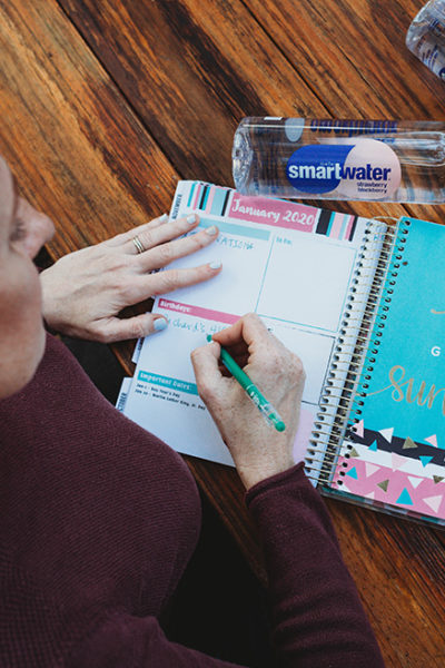 Write in planner