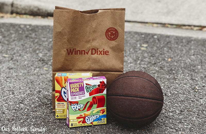snacks and basketball