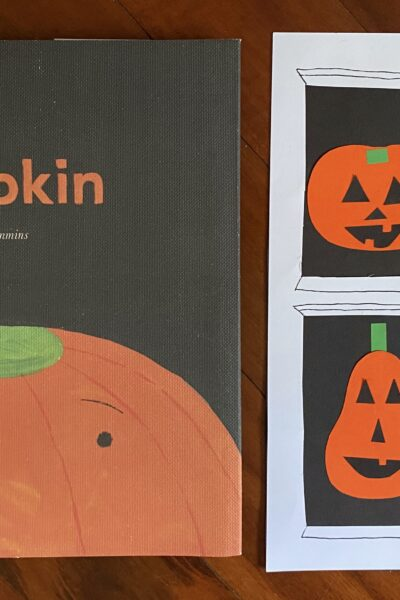 Stumpkin book art project