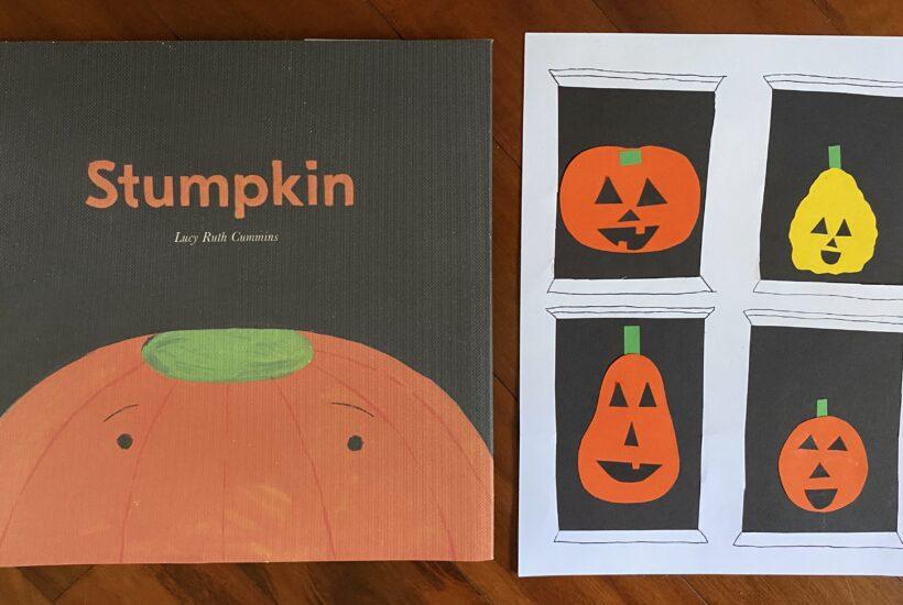 Stumpkin book art project